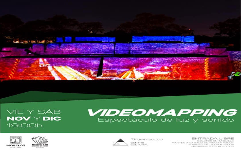 Boletos Videomapping