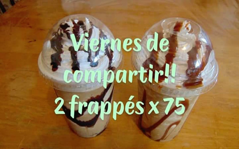 Viernes Frappes 2 x $75.00